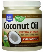 Nature's Way Organic Coconut Oil Extra Virgin Cooking Cold Pressed 16oz.... - $22.76