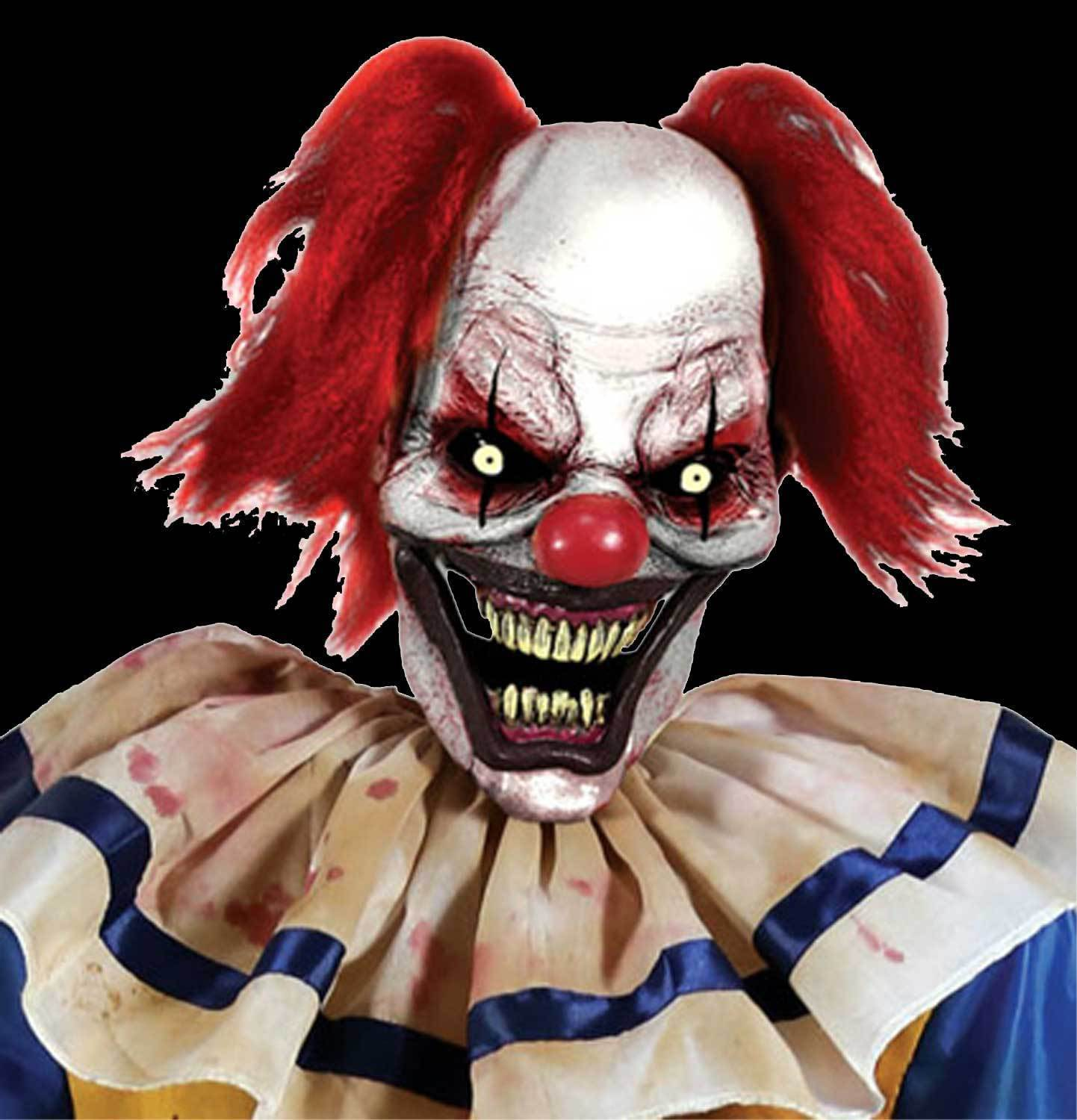 Life Size Creepy ANIMATED SWINGING CLOWN ZOMBIE Haunted House Prop Decoration