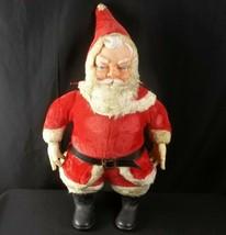 "Vintage My Toy Plush Santa Claus Doll 24"" Tall  - $79.15"