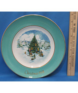 Vintage 1978 Enoch Wedgwood Collectors Plate Avon Christmas Trimming The... - $6.92