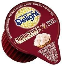 International Delight Coffee Creamer Singles, Cold Stone Creamery Sweet ... - $32.39