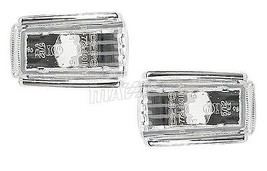 Clear Side REPEATER/SIDEMARKER Lights For Volvo 960 Series 1992-1997 - $9.89