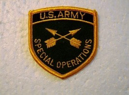 U.S. Army Special Operations Corps Branch Of Service Full Color Patch NEW:K9 - $3.75