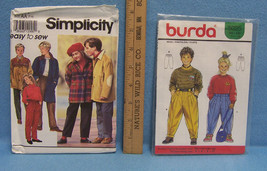 Childrens Sewing Patterns Sizes 4 to 10 Pants Jacket  Styles New Lot of  2 - $8.90