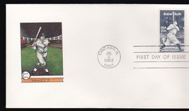 BABE RUTH #2046 CHICAGO, IL JULY 6, 1983 NEW DIREXIONS CACHET - ₹228.14 INR