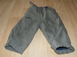 Size 23 Months Baby Cool Fleece Lined Army Green Warm Winter Pants GUC - $12.00
