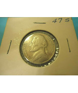 1947-S JEFFERSON NICKEL   (( ALBUM QUALITY )) - $2.97