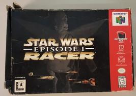 N) Star Wars: Episode I: Racer (Nintendo 64) Video Game - $19.79