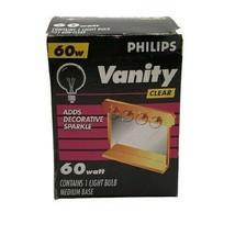 Phillips Clear Vanity Light Bulb (60w, Open Box, 1-Bulb) - $7.84