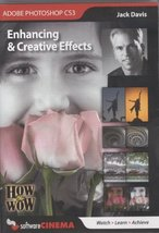 Adobe Photoshop CS3 How to Wow Enhancing & Creative Effects Jack Davis 2... - $8.50
