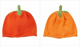 NWT Gymboree Happy Harvest Fall Festival Pumpkin Baby Knitted Orange Beanie Hat - $7.99