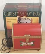 Maisto Christmas Animated Illuminated Music Toy Box w/AC Adapter & Box W... - $59.95