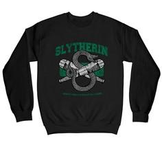 Harry Potter Slytherin Snake Quidditch Emblem Children's Unisex Black Sw... - $25.07