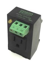 NEW MURR ELEKTRONIK ART. NO. 676166 POWER SOCKET 110 VAC 15A