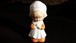 Girl In Bonnet Praying and Kneeling LEFTON TAIWAN EXCLUSIVES - $10.00