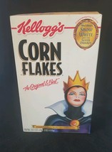 Snow White And The Seven Dwarfs Unopened Box Of Kellogg's Corn Flakes 20... - $7.13