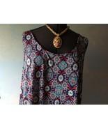 Sigrid Olsen women's Sleeveless Multi-color  Blouse Top Size 2X - $28.71