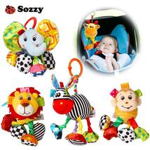 Sozzy Baby Soft Plush Stuffed Pull and Vibrate Car Seat Stroller Crib Mo... - $21.00