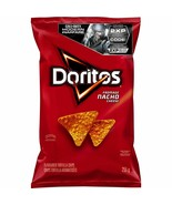 1 Bag Doritos Nacho Cheese TORTILLA CHIPS LARGE 255g FRITO LAY Canada FRESH - $12.28