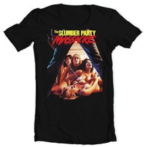 The Slumber Party Massacre T Shirt retro 1980s horror movie graphic tee vintage image 1