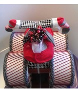 Alabama Crimson Tide Football Themed Baby Shower Four Wheeler Diaper Cak... - $50.00