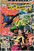 Blue Ribbon Comics #7 Archie Adventure Series Apr 1984 Fox Vs Eraser VG 4.0 - $3.95