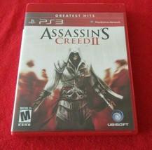 Assassin's Creed II (Sony PlayStation 3, 2009) Greatest Hits - $6.92