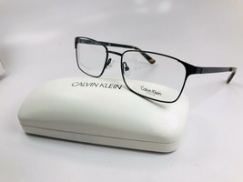 New Calvin Klein CK8013 001 Black Eyeglasses 53mm with Case - $64.30