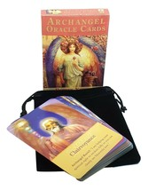 Archangel 45 Oracle Cards Angel Tarot Flashcards Deck Divination Fortune... - $14.28