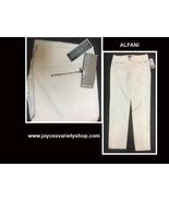 Alfani White Slim Leg Pants Slacks Sz 12 - $15.99