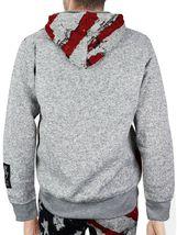 Lavish Society Men's Athletic US Flag Pullover Hoodie Jacket Pants Tracksuit Set image 3