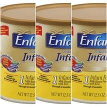 Lot of 3 Enfamil Premium Infant Powder Baby Formula 12.5oz.  2020 Exp - $49.39