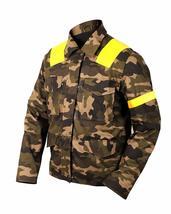 Mens 21 Twenty One Pilots Trench Camouflage Levitate Cotton Jacket image 3