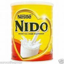 Nido Dry Whole milk 2pack Europe 400g each dent sale - $16.00