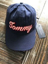Tommy Hilfiger TOMMY StrapBack Hat Cap Navy Spell Out Dad Hat Adjustable... - $29.70