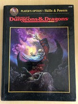 Dungeons & Dragons Player's Option Skills & Powers 2154 Advanced Tsr Hc D&D - $19.60