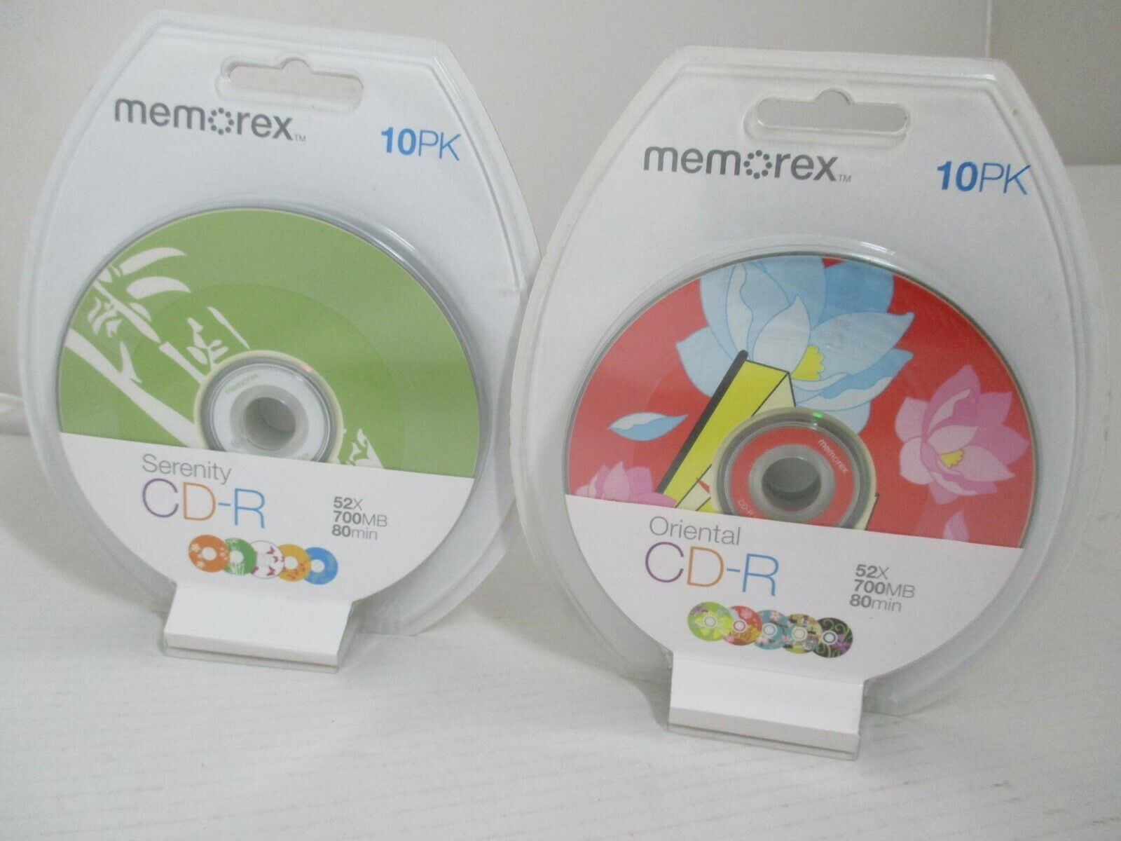 2 x 10 Pack Memorex CD-R 52X 700MB 80 Minutes Recordable CD - Oriental Serenity - $14.99