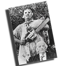 1974 Texas Chain Saw Massacre Poster Reproduction 8x12 Inch Aluminum Sign - $19.75