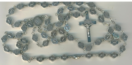 St. Benedict Medals as Beads - Rosary with Case image 3