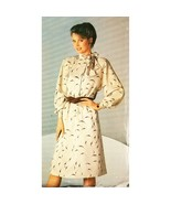 Misses Dress Butterick See & Sew 5131 Sewing Pattern Vintage Size 6-10 c... - $5.99