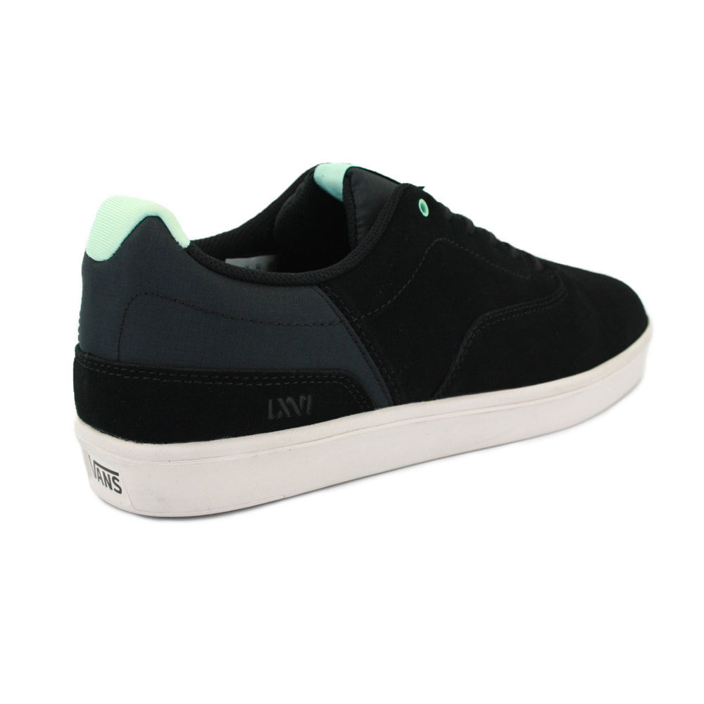 NIB VANS LXVI VARIABLE BLACK TEAL sz 7 MENS SHOES SKATE SKATEBOARD 25 CM EUR 39