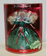 VINTAGE 1995 Happy Holidays Barbie Doll Special Edition New in Box  - $19.79