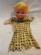 Flintstones 1960's Scheithauer German Hand Puppet Rubber Head - Bamm-Bam... - $14.95