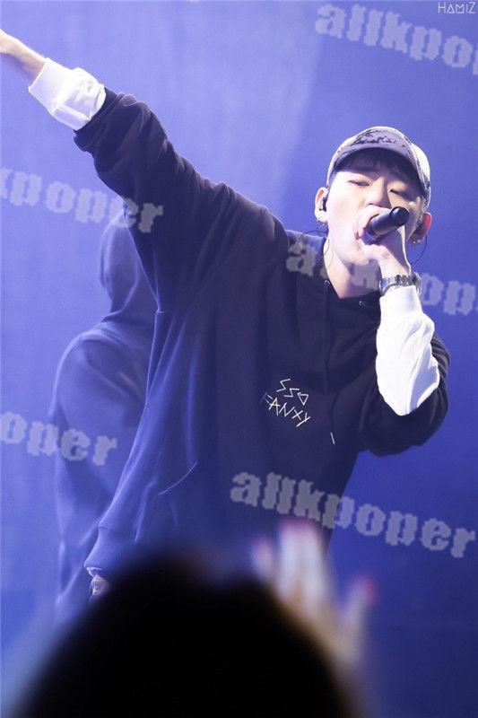 KPOP Block B ZICO Same Style Cap Hoodie Sweater Unisex Jacket Coat Outwear