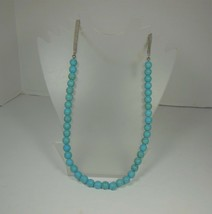 Kenneth Cole Faux Turquoise Bead Necklace - $12.86
