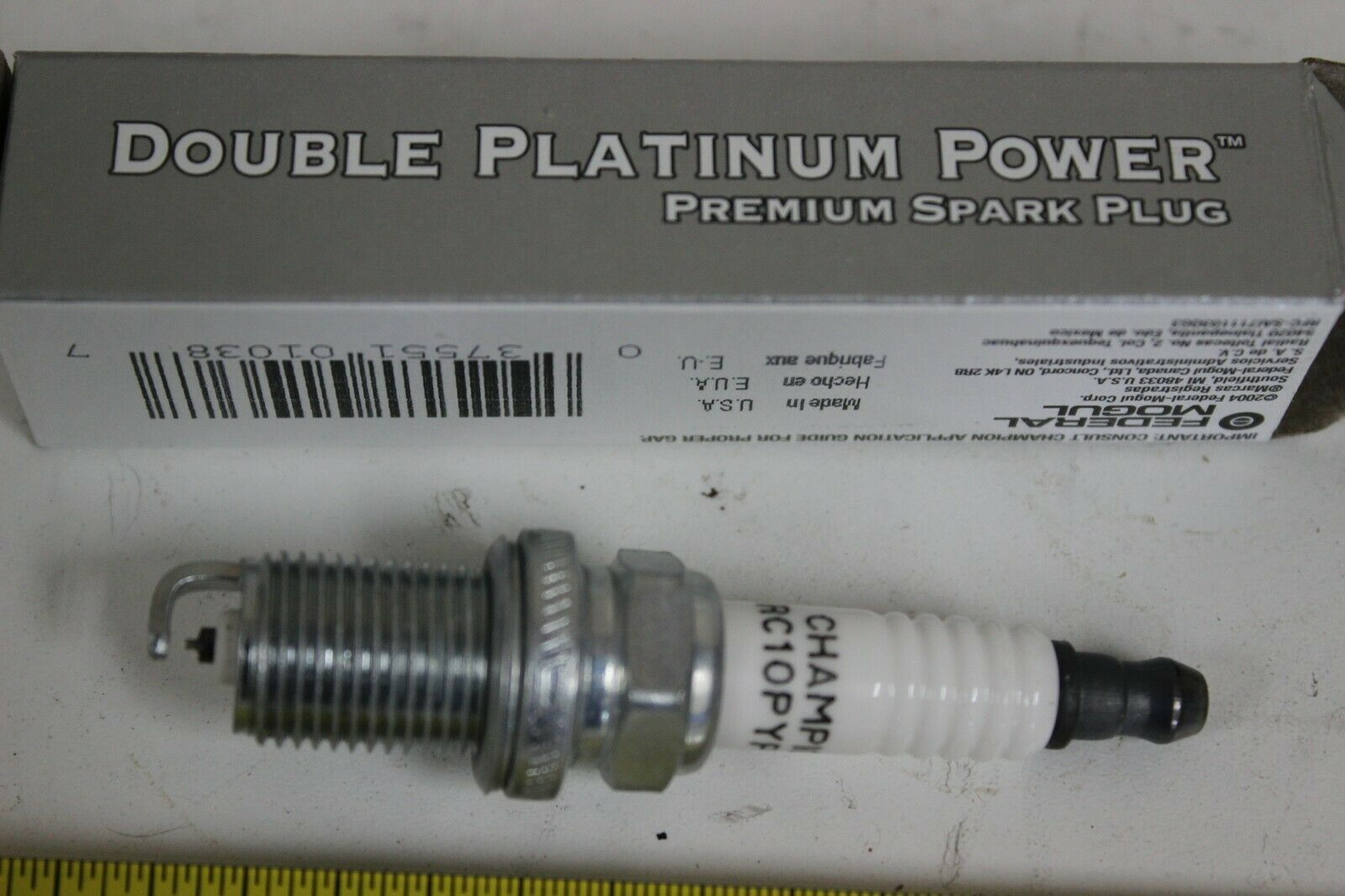 Champion RC10PYPB4 Double Platinum Power Spark Plugs Pack of 4 New
