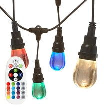 Newhouse Lighting RGBWSTRING10 Outdoor LED Color Changing RGB String Lig... - €80,12 EUR