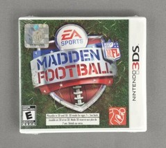 Madden NFL Football (EA Sports Nintendo 3DS, 2011) Rare - NEW FACTORY SE... - $98.99