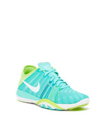 NIKE WOMEN'S FREE TR 6 SHOES SIZE 6 turquoise white green 833413 300 - $57.34