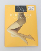 Berkshire Control Top Invisible Toe Pantyhose 8723 Off Black NWT size 1-2 - $3.19